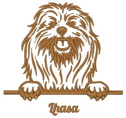 Lhasa embroidery design