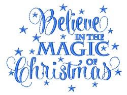 Christmas Magic embroidery design