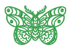 Moth Outline embroidery design