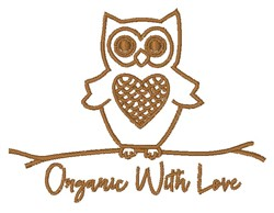 Organic With Love embroidery design