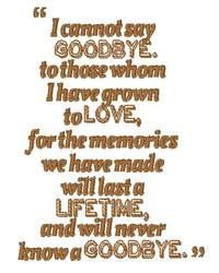 Memories Last A Lifetime embroidery design