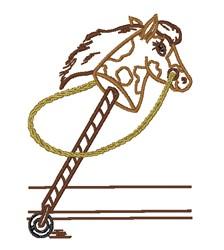 Stick Horse embroidery design