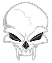 Vampire Skull embroidery design