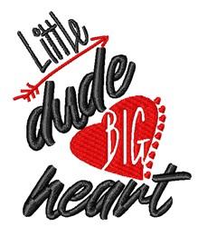 Big Heart embroidery design