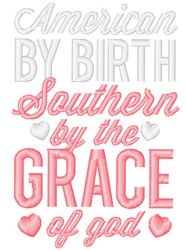 Southern By Grace embroidery design