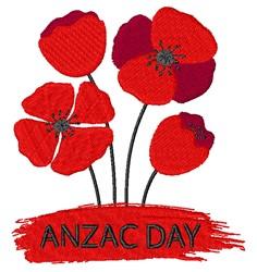 Anzac Day embroidery design