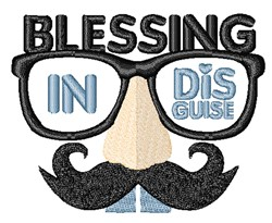 Blessing In Disguise embroidery design