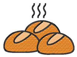 Hot Buns embroidery design