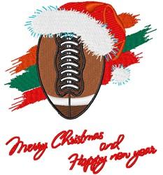 Christmas Football embroidery design