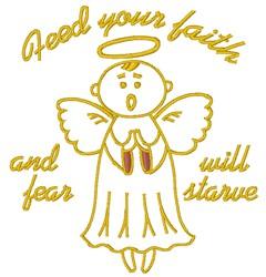 Feed Your Faith embroidery design