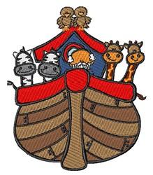 Noahs Ark embroidery design