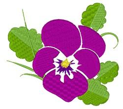 Petunia Bloom embroidery design