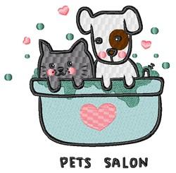 Pet Salon embroidery design