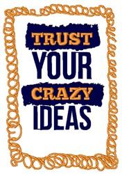 Crazy Ideas embroidery design