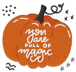Full Of Magic embroidery design