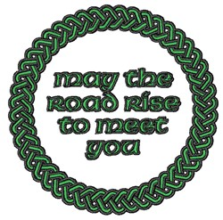 Road Ride To Meet You embroidery design