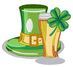 St. Patricks Day Beer embroidery design