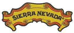 Sierra Nevada embroidery design