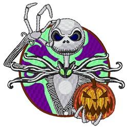 Jack Skellington Halloween embroidery design