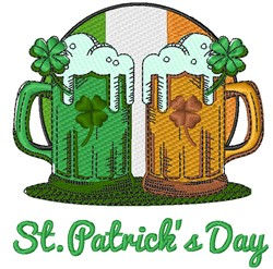 St. Patrick's Day embroidery design