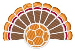 Soccer Ball Turkey embroidery design