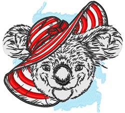 Koala & Sunbonnet embroidery design