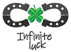 Infinite Luck embroidery design