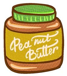 Peanut Butter embroidery design