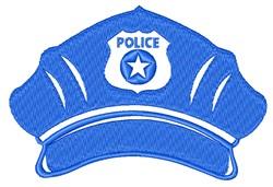 Police Cap embroidery design