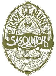 100% Genuine Sasquatch embroidery design
