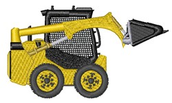 Fork Lift embroidery design