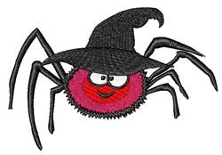 Kawaii Halloween Spider embroidery design