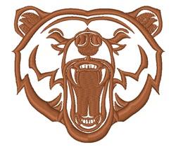 Bear Growl embroidery design