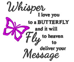 Whisper Your Message embroidery design