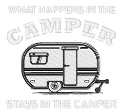 Says In Camper embroidery design