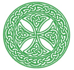 Celtic Circle embroidery design
