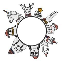 Winter Animals embroidery design