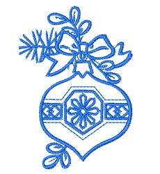Ornament Outline embroidery design