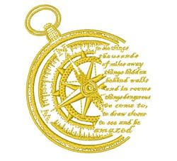 Golden Compass embroidery design
