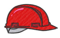 Hard Hat embroidery design