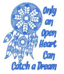 Catch A Dream embroidery design