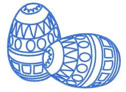 Egg Outline embroidery design