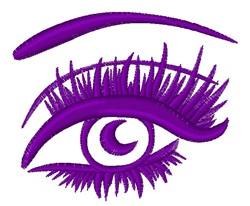 Female Eye embroidery design