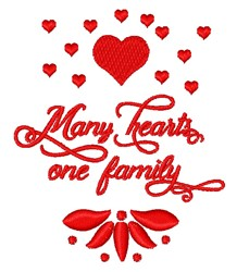 One Family embroidery design