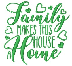 House A Home embroidery design