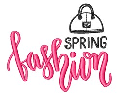 Spring Fashion embroidery design