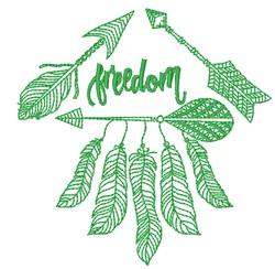 Southwestern Arrows embroidery design