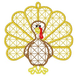 FSL Thanksgiving Turkey embroidery design