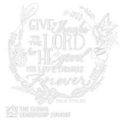 The Lord Is Good embroidery design