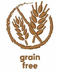 Grain Free embroidery design